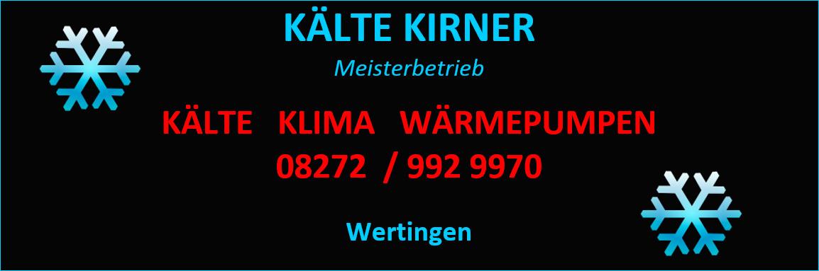 Kälte Kirner - Klima, Kälte, Wärmepumpen